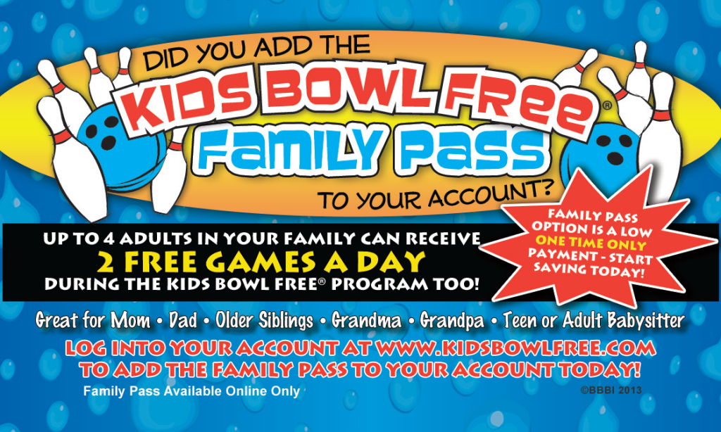 Kids Bowl Free Coupon Shop on tiospecicin.gq Shop on Kids Bowl Free with coupons and enjoy big savings. Steps are quite easy to do. You just need to choose one of these 22 Kids Bowl Free coupons in November or select today's best coupon Register At Kids Bowl Free To Win Some Amazing Prizes Including A Great Family Trip To Disney World & More, then go visit Kids Bowl Free .